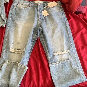 Top man jeans TWO DIFFERENT SIZES
